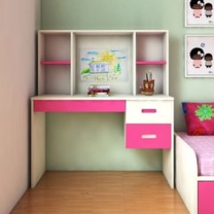 Study Table And Chair For Kids Revolving Tub Room Buy Furniture Online At Best Prices Tiara Kid S Desk In Ivory Barbie Pink Colour