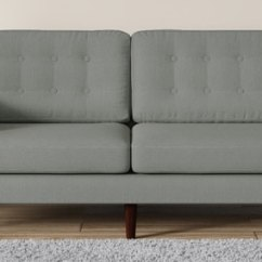 Wooden Sofa Sets Designs India Comfort Set Buy Online At Best Price Pepperfry Tomas Three Seater In Ash Grey Colour