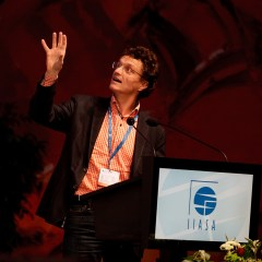 Michael Obersteiner at IIASA conference 2012