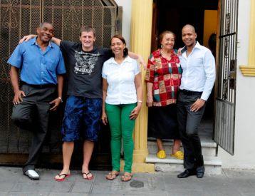 IIC Santo Domingo Accommodation Guest family Gloria DSC3315_CB