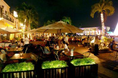 IIC Santo Domingo Activities Zona Colonial at night 12096sc90700_SC