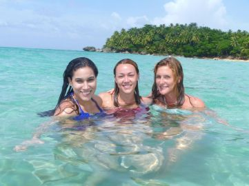 IIC Sosua Activities Playa Grande Beach Girls_JK