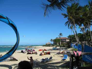 IIC Sosua Location Cabarete Kite beach