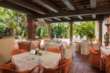 SanMarcoHotel SantoDomingo breakfast terrace
