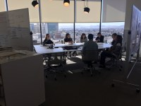 Getting to know each other at Gensler Oakland. / Credit: Fabiola Hernandez, IIDA Associate, LEED AP ID+C