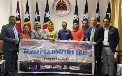 Solidarity mission kicks off: Bangsamoro Learning Visit to Timor Leste