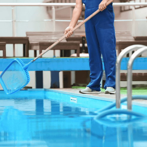 swimming pool cleaning service in abu dhabi