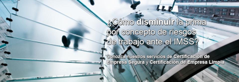 Certificación empresa segura y empresa limpia