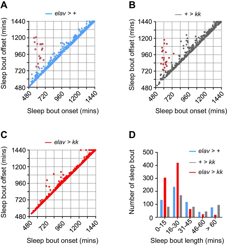 Figures And Data In Neurocalcin Regulates Nighttime Sleep