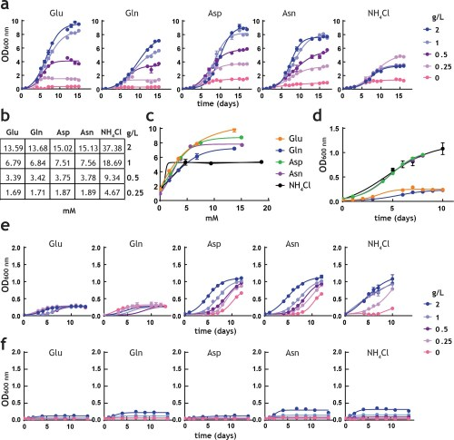 small resolution of analysis of m tuberculosis growth in pre adapted nitrogen cultures