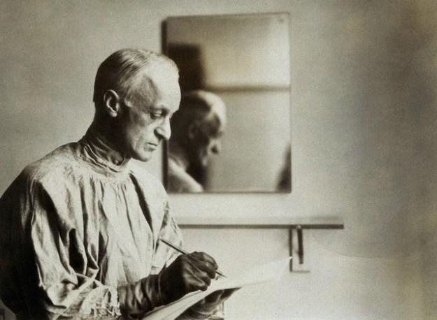 Harvey Williams Cushing. Photograph by W.(?)W.B.