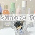 my skincare items|私のスキンケア事情〜おすすめ紹介🌼
