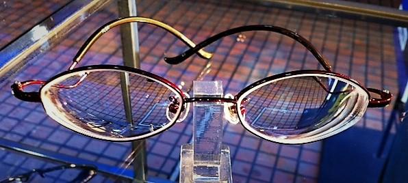 強度近視でも快適で素敵なメガネ FLEA57-03-48