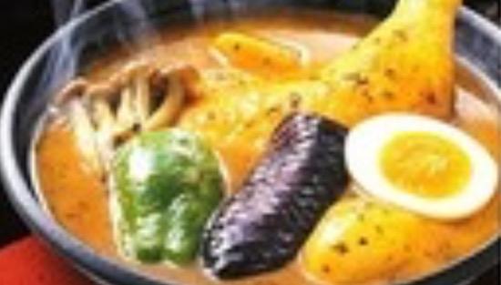 レトルトのスープカレー画像