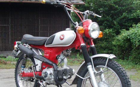DAX125 プレスフレーム