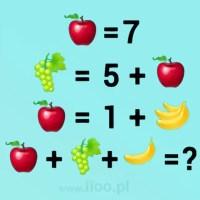 zagadka owocowa 12