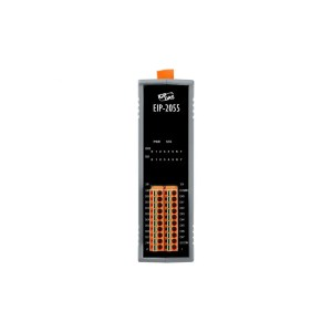 EIP-2055 CR :Ethernet/IP I/O Module 8DI/8DO isolated