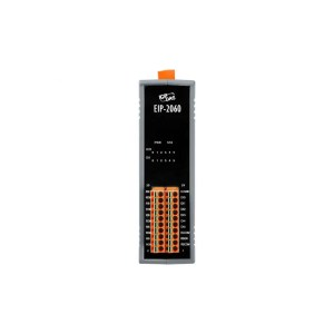 EIP-2060 CR : Ethernet/IP I/O Module 6DI/DO Relay/isolated