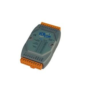 M-7018-G CR : I/O Module/Modbus RTU/8AI/TC
