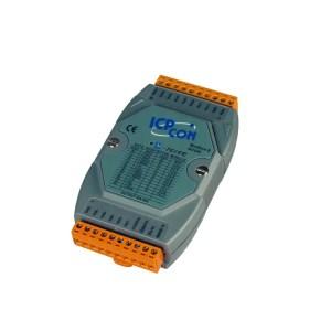 M-7019R-G CR : I/O Module/Modbus RTU/8AI/High Prot.