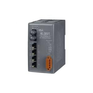 NS-205FT CR : Ethernet Switch/4 Ethernet/1 Fiber/ST/Mu-Mode/2km