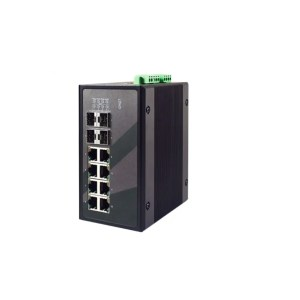 EHG9512 Series : 12-Port IEC 61850-3 certified Managed Gigabit switch