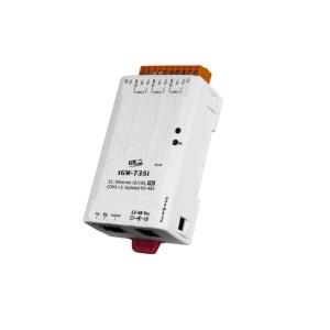 ICP DAS tGW-735i CR : Tiny/Gateway/Modbus RTU/TCP/PoE/3 RS-485/isolated
