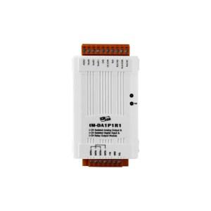 tM-DA1P1R1 CR : I/O Module/Modbus RTU/tiny/1AO/1DI/isol./1relay