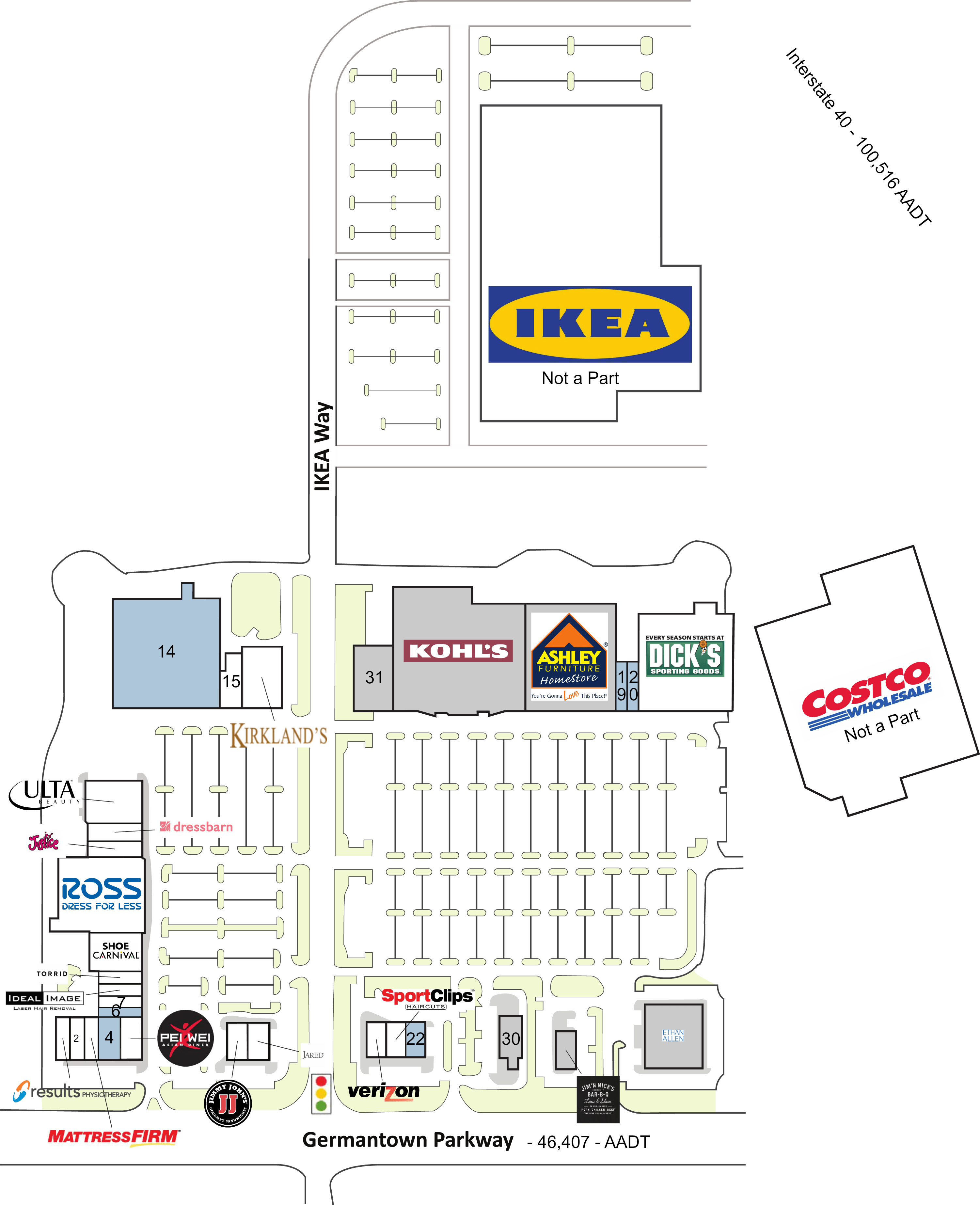 Cordova Tn Countrywood Crossing  Retail Space For Lease