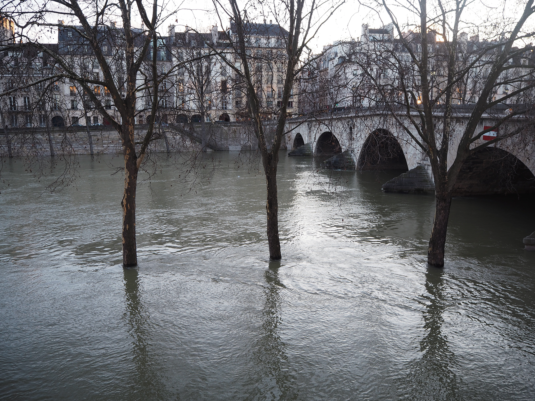Paris Acqua Alta