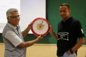 Inauguration of the e Clock