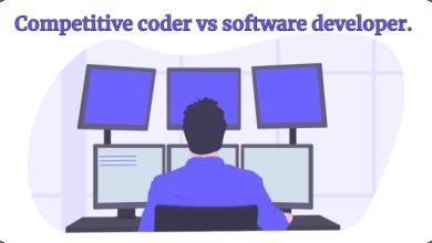 Software developer vs Competitive Programmer