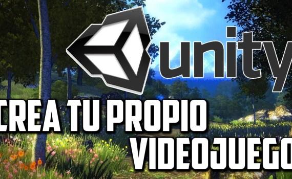 Unity crea tu videojuego