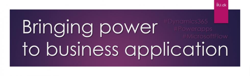 #PowerApps #PowerAutomate #Dynamics365