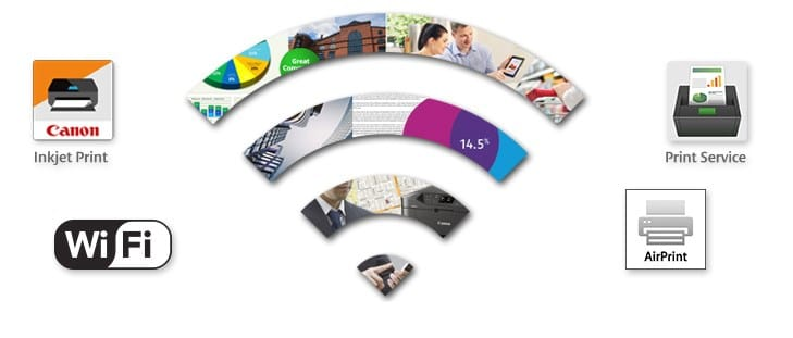 MAXIFY Wireless Printing