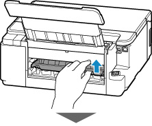 Canon : Inkjet Manuals : G5000 series : Removing Jammed