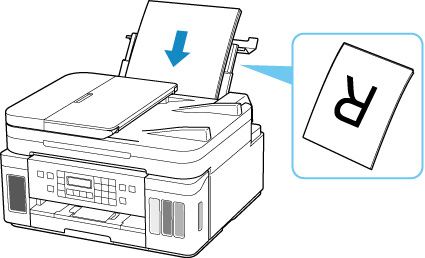 Canon : Inkjet Manuals : G7000 series : Loading Paper in