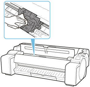Canon : imagePROGRAF Manuals : TM-305 : Replacing the