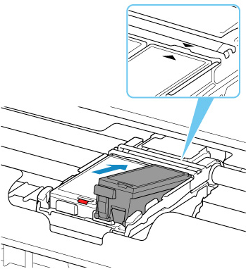 Canon : Inkjet Manuals : TR150 series : Replacing Ink Tanks