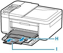 Canon : Inkjet Manuals : TR4500 series : Loading Plain Paper
