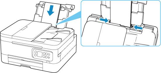 Canon : Inkjet Manuals : TR7000 series : Loading Envelopes