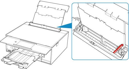 Canon : PIXMA-Handbücher : TS9100 series : Papier wird