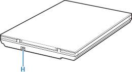 Canon : Manuales de CanoScan : LiDE 400 : Componentes