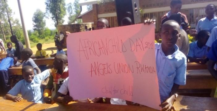 Angels Union Rwanda yifatanije na G.S Rusheshe mu kwizihiza umunsi w'umwana w'umunyafurika