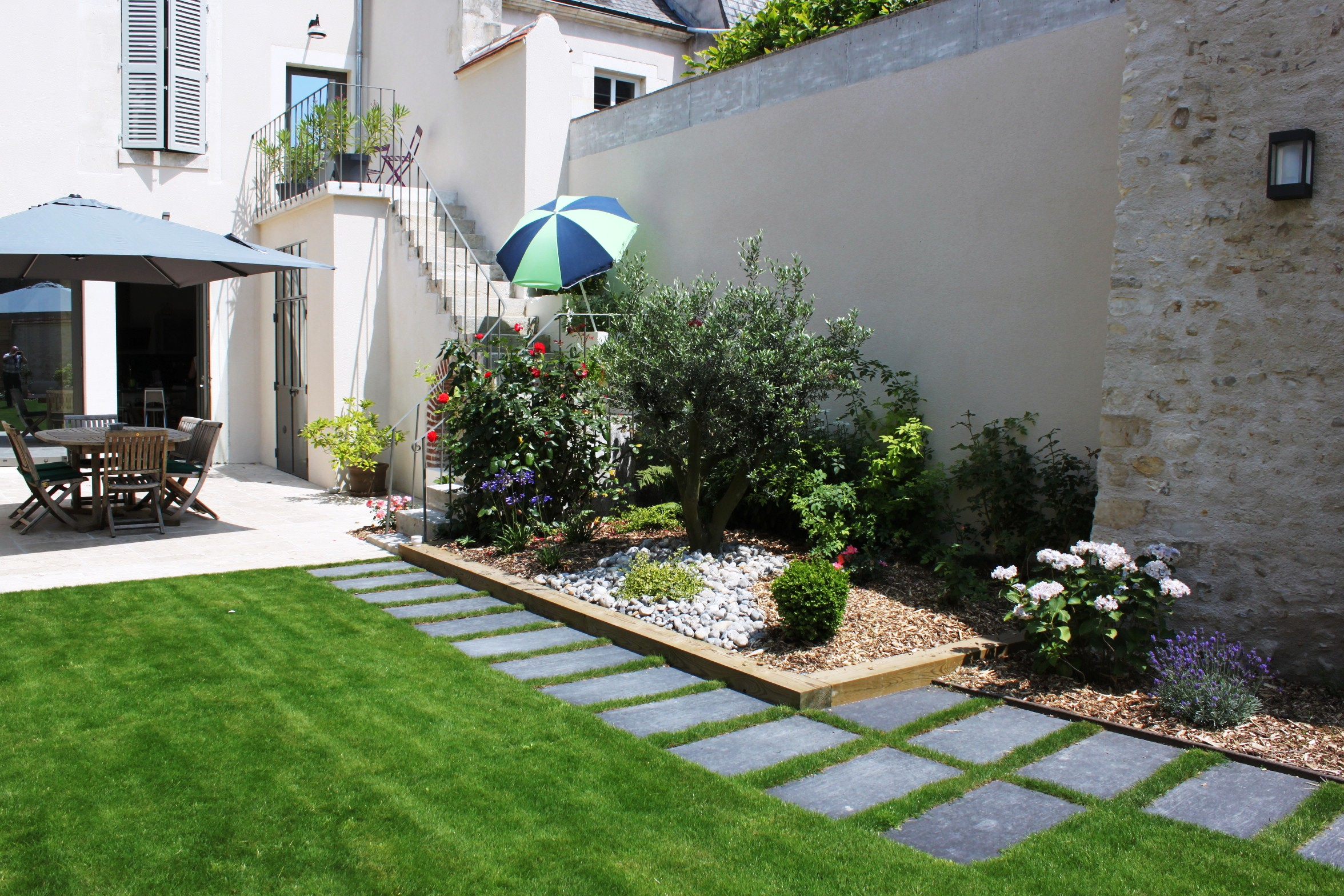 Créer Jardin Japonais Terrasse