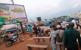 Enraged Youths Protest Police Brutality In Osogbo