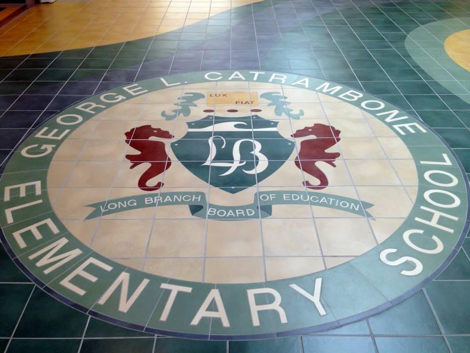 GLC Elementary School Logo at Main Entrance