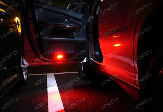 Red Expandable Smd Led Interior Lights