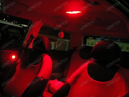 Red Car Interior Lights