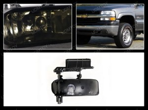 9902 Chevrolet Silverado Smoke Fog Lights